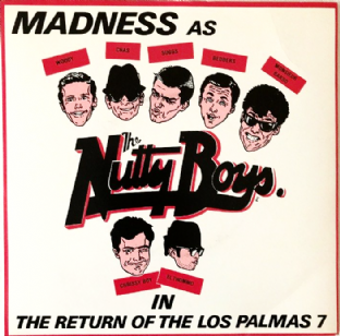 "Madness ‎- The Return Of The Los Palmas 7 (7"") (EX-/VG)"
